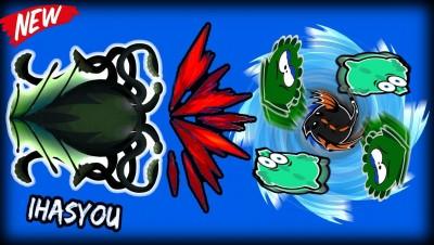 MEGA-KRAKEN DESTROYS REGULAR KRAKEN & DRAGONS  - MOPE.IO NEW HD SKINS!!
