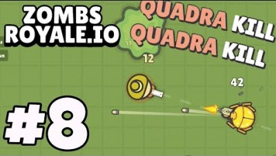 MENTAL GUN GAME *Quadra Kill King!* - Zombs Royale.io #8 (fortnite .io)