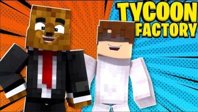 MINECRAFT BUSINESS TYCOON - MINECRAFT EASTER EGG FACTORY