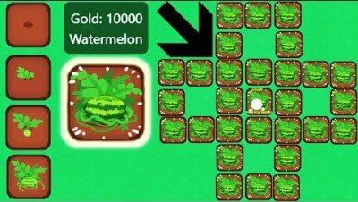 Modd.io Game: Farmerz - Building a Watermelon Farm!