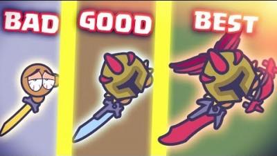 Moomoo.io BEST BUILD Bloodthirster + Bld Wings + Katana! BOOST VS TRAP