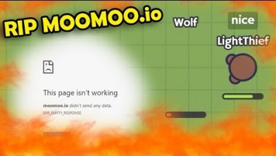 Moomoo.io Doomsday!? Insane amount of glitches and website down... RIP.