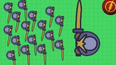 Moomoo.io Gold Weapons do More Damage now (Moomoo.io Update)