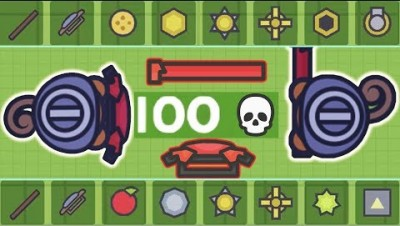 Moomoo.io - Is This The Worst Setup? - Stick & Shield Combo: 100 Kill Challenge (Episode 2)