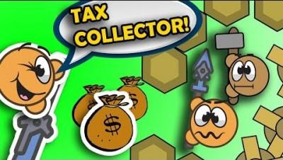 Moomoo.io Making People Pay Tax! + Versing Hat Changing Hacker + Player calling me Mom??