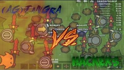 MooMoo.io NEW BEST HACK!? LvL 9999 God Hacker Anti-Clown VS Clones