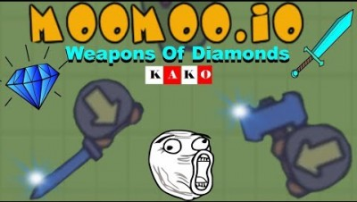 MOOMOO.IO -  NEW DIAMOND WEAPONS UPDATE - NOVA ATUALIZAÇÃO - Diamond Tool Hammer/Diamond Katana