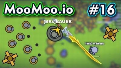 Moomoo.io - O MELHOR CHAPÉU PRA PVP - Gameplay #16