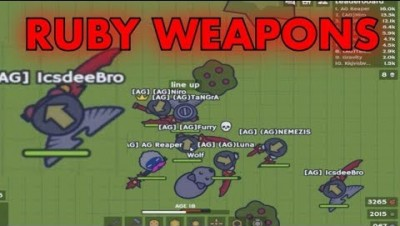 MooMoo.io Ruby Weapons REAL New Update Ruby Katana Ruby Spear Ruby Stick