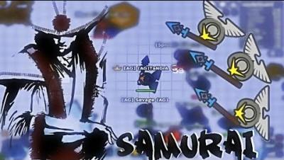 MooMoo.io Samurai Story | Samuray Hat And Corrupt X Wings Army