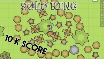 MOOMOO.IO - SOLO KING / 10 K SCORE SOLO + TIPS AND TRICKS TO PLAY WITHOUT ANY TRIBE !