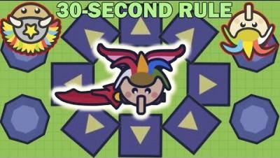 Moomoo.io - The Legend of the Clown: The 30-Second Rule (Moomoo.io Challenge)