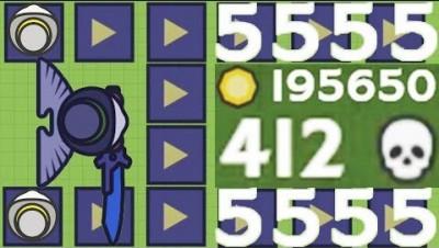 Moomoo.io - The Legend of the Plague Mask - The 400-Kill Infection (412 Kills, 195K Score)