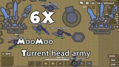 MooMoo.io Turret Hat Arena | Diamond Spears Diamond Katanas Diamond Knives