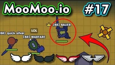 Moomoo.io - UPDATE DAS ASAS COM EFEITOS - Gameplay #17