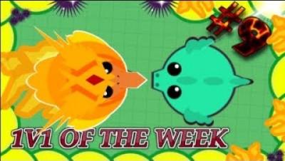 Mope.io 1v1 Of the Week #9 DaRealPhoneix (Eu15)