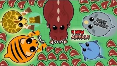 MOPE.IO 3 NEW GLITCHES & 3 NEW ANIMALS! Rhino, Swordfish, Tiger Glitches T-Rex,  Giraffe NEW UPDATE!