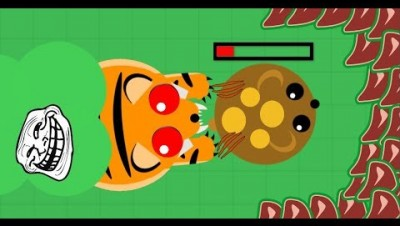 Mope.io // AND HIS NAME IS .... // TIGER TROLLING // Mope.io Bests moments