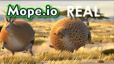 Mope.io - ANIMAIS REALISTAS - Vídeo engraçado