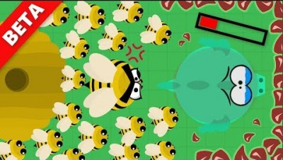 Mope.io // BEES *NEW* ANIMAL IN BETA SERVER // Mope.io beta update and Dragons 1v1