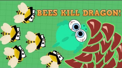 Mope.io BEES STING DRAGON TO DEATH!!! New Beta AI Update! (Mope.io New Update and Trolling!)