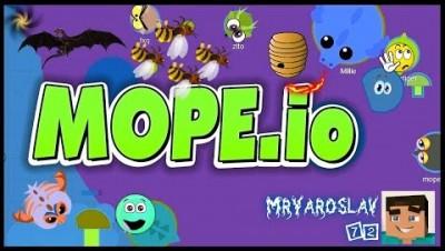 Mope.io-Бета и пчёлки !^_^!