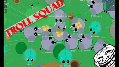 Mope.io // BIGGEST ELEPHANTS ARMY // Mope.io bests moments