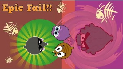 Mope.io Epic Battle Royale FAIL Caused by HAXER Developer!! (Mope.io Battle Royale Gameplay)