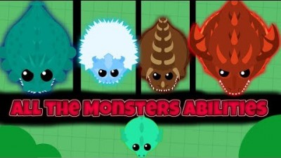 Mope.io 【every ability of the new monsters】 and some suggestions 『Epic kills』