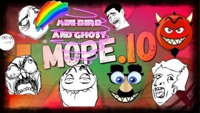 Mope.io-Ghost и mini птица