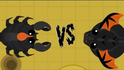 MOPE.IO // GIANT SCORPION VS BLACK DRAGON // EPIC FIGHT // COMING SOON // PREVIEW #3