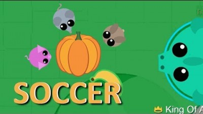 MOPE.IO // HOW TO PLAY SOCCER WITH PUMPKIN // TEASER #45