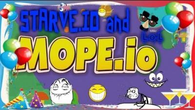 Mope.io и Starve.io-1 год каналу! :D ;)