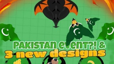 mope.io// Independence Day (Pakistan EVENT) //  New limited Skin super rare toucan! //