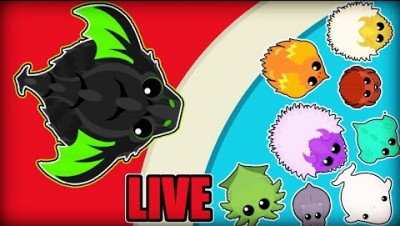 Mope.io - Live Stream | Lets Get KD use name