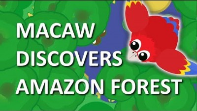 MOPE.IO // MACAW DISCOVERS *NEW* #AmazonRainForest IN MOPE WORLD // #BigTree // TEASER #88