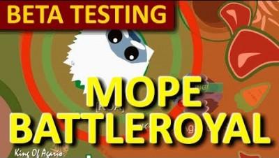 MOPE.IO // #MopeBattleRoyal BETA TESTING // TEASER # 28
