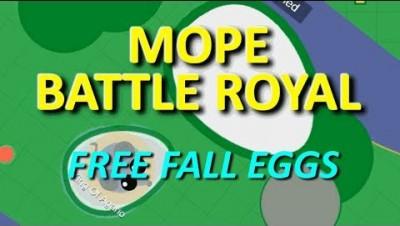 MOPE.IO // #MopeBattleRoyal // FREE FALL SPAWNING // TEASER # 35