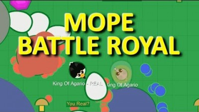 MOPE.IO // #MopeBattleRoyal // MOVING SPAWN EGGS // ANTI-BOREDOM // TEASER # 34