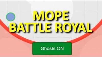MOPE.IO // #MopeBattleRoyal // NEW HIDE GHOST BUTTON // TEASER # 37