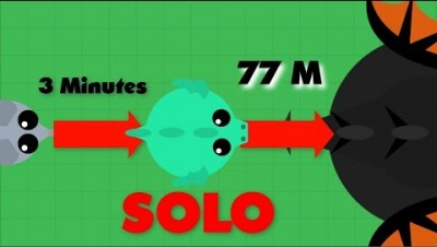 Mope.io // MOUSE TO DRAGON IN 3 MINUTES + Solo 77M highscore domination