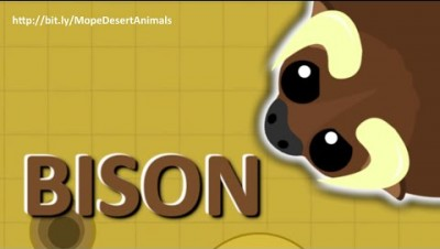 MOPE.IO // *NEW* #Bison GORES MOPE WORLD // #DesertUpdate  // TEASER #73