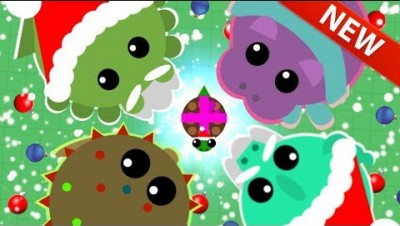 MOPE.IO *NEW* CHRISTMAS UPDATE SKINS! ALL CHRISTMAS/WINTER ANIMALS INSANE THEME (Mope.io Gameplay)