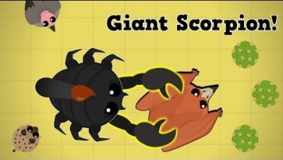 Mope.io New Giant Scorpion Dominates The Desert!! Best Animal In Mope? (Beta Giant Scorpion Update)