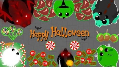 Mope.io NEW HALLOWEEN THEMED UPDATE // CANDY DONKEY KILLS BLACK DRAGON (Mope.io Funny Moments)