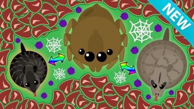 MOPE.IO *NEW SNAKES & SPIDER ANIMAL UPDATE!* | MOPE.IO NEW ANIMALS! (Mope.io Update)