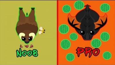 Mope.io - Прокачка до чёрного дракона