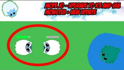 Mope.io - pumping to ice monster and sea monster + new update