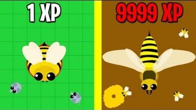 MOPE.IO QUEEN BEE EVOLUTION! MOPE.IO NEW UPDATE(mope.io update)