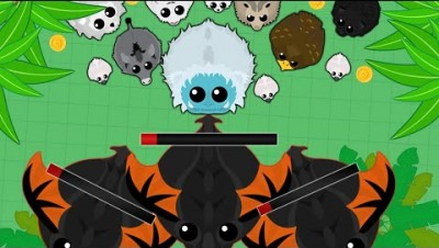 Mope.io RARE chance buff! | Epic rare animal kill montage!